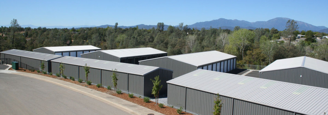 Photo of all the storage units